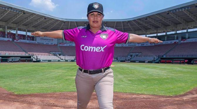 Se cumplen 3 años del Debut de Luz Alicia Gordoa como Umpire en la LMB